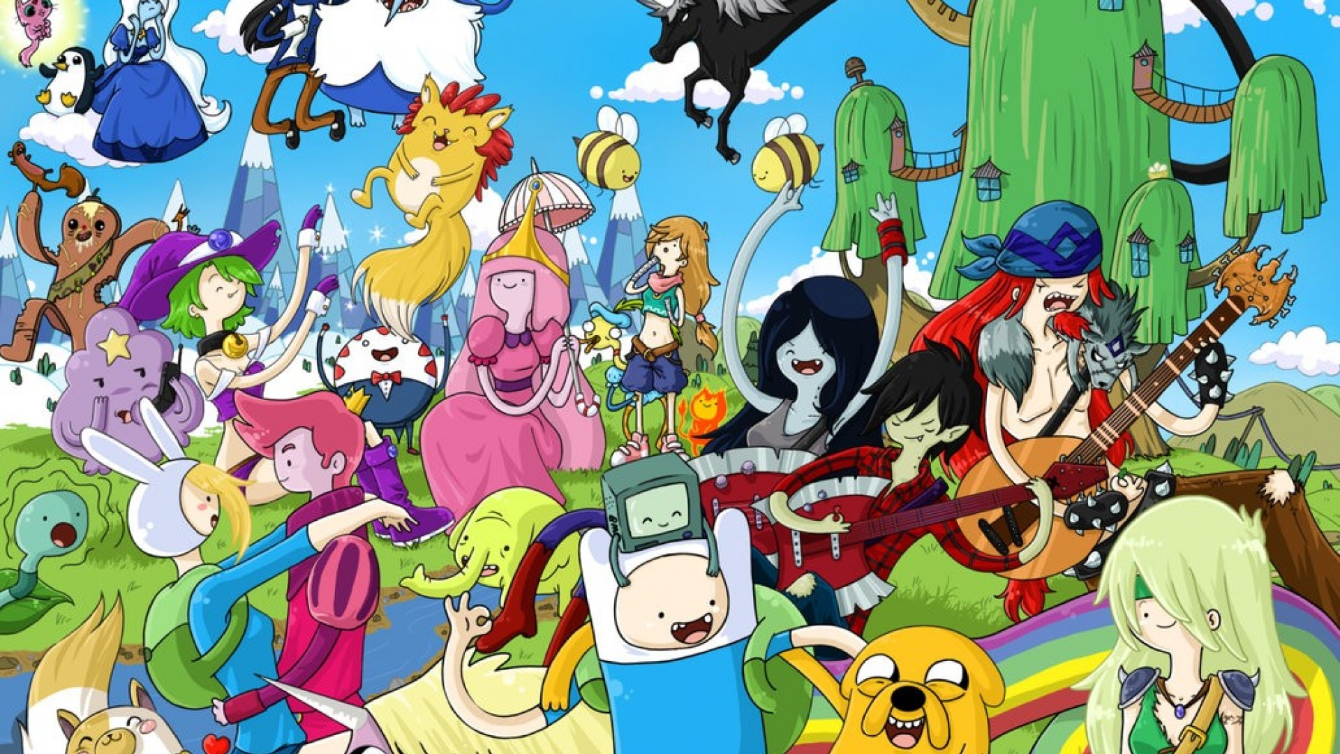 Watch Adventure Time Online   Season 1 - 7 on Lightbox